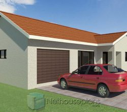 3 bedroom house plans with garage Nethouseplans