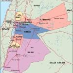 Jordan Political Map Eps Illustrator Map Vector World Maps