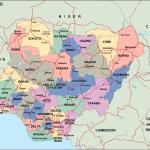 Nigeria Political Map Vector Eps Maps Eps Illustrator Map Vector World Maps