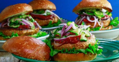 Sriracha Turkey Burger-Netmarkers