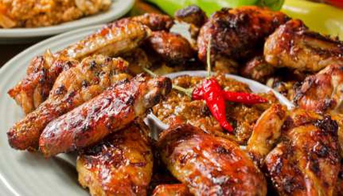 BBQ chicken with chili peach glaze-Netmarkers