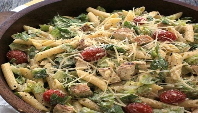 Chicken Caesar Pasta Salad Recipe-Netmarkers