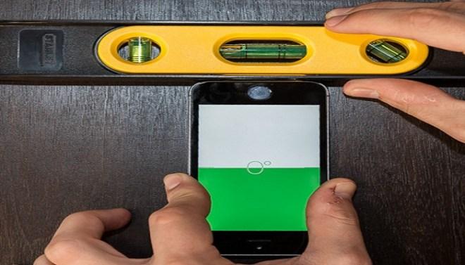 Spirit-level-in-iPhone-Netmarkers