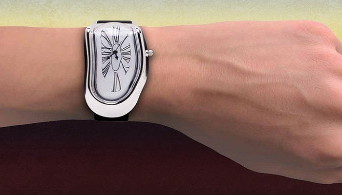 Salvador Dalí's Persistence of Memory Inspired Melted Wristwatch-Netmarkers