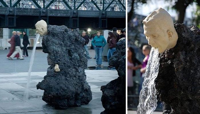 Vomiting-Fountain-Sculpture-in-UK-Netmarkers