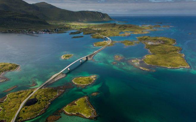 ATLANTIC Ocean roads-netmarks