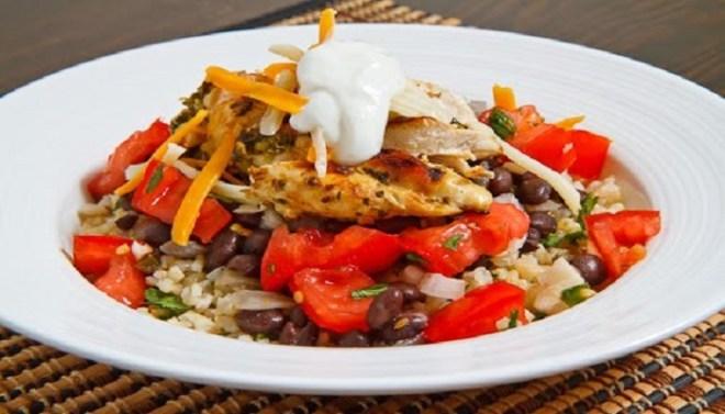 Burrito Bowl chicken-Netmarkers