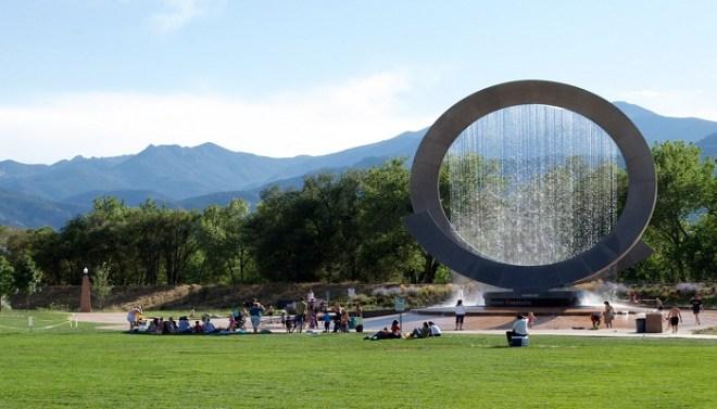 Julie Penrose Fountain, USA