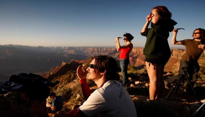 Annular Solar Eclipse netmarkers