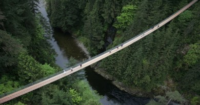 Capilano Suspension Bridge- Vancouver, Canada-netmarkers
