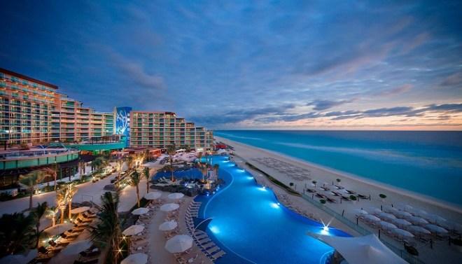 Hard Rock Hotel Cancun netmarkers