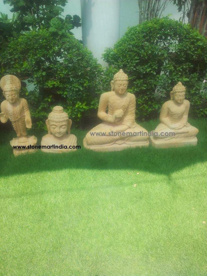 stone buddha by Stonemart