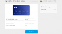 Formulario de Tarjeta de Crédito en Mercado Pago