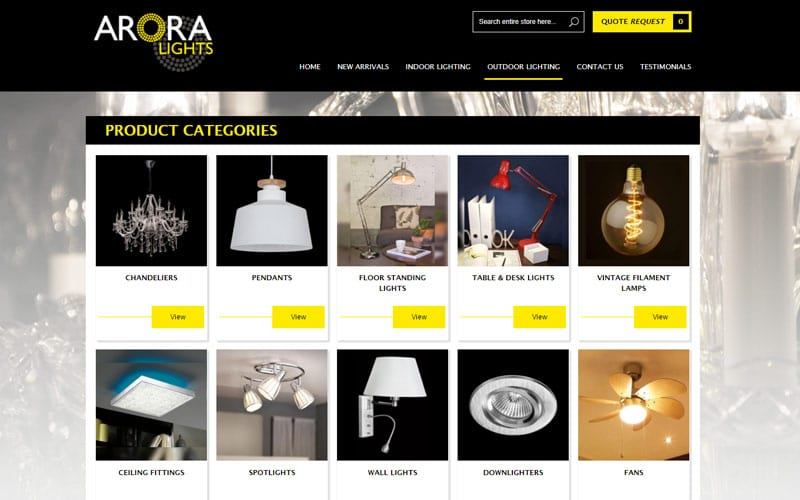 arora-lights-magento-website-development
