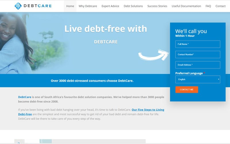 debt-care-screen-shot