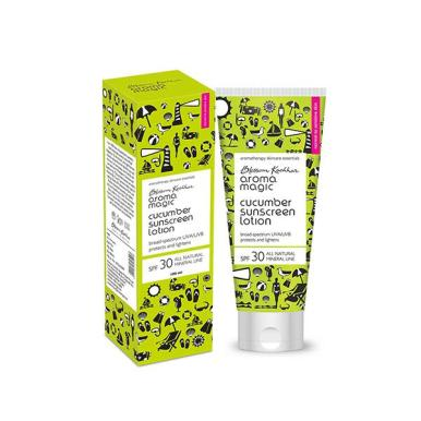 Aroma Magic Sunscreen Lotion - Cucumber 100 ml