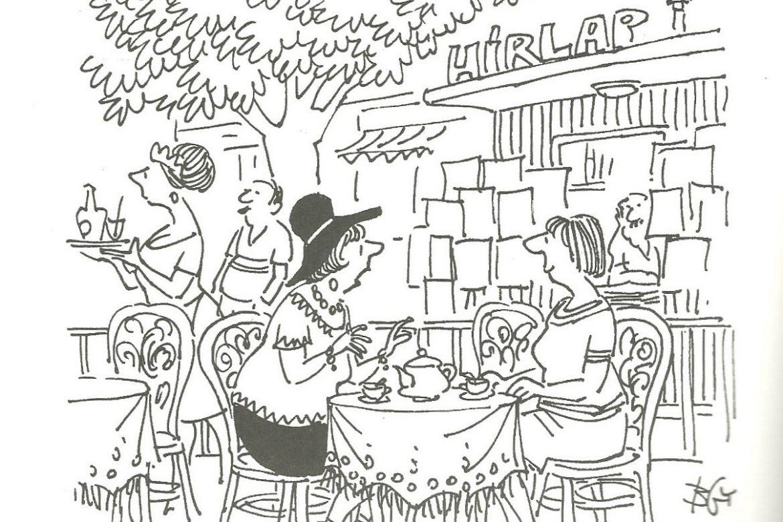 Emlékek a rendszerváltás hajnaláról – Brenner György karikatúrái