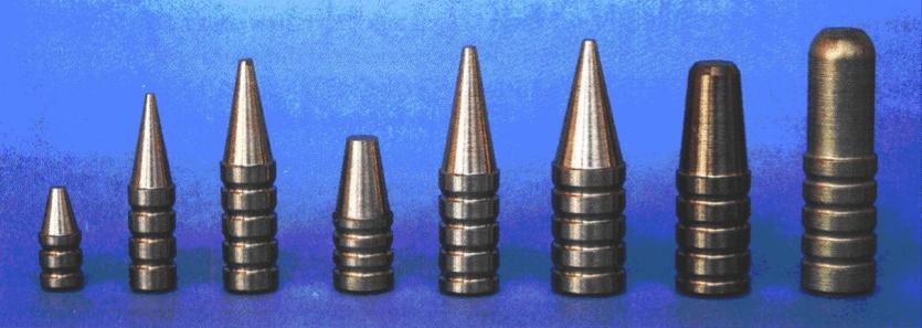 De forskellige kugletyper #7 - Fabriksfremstillet ammunition