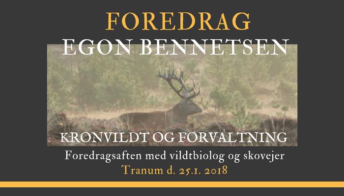 Update: Egon Bennetsen foredrag i Tranum er fuldtegnet