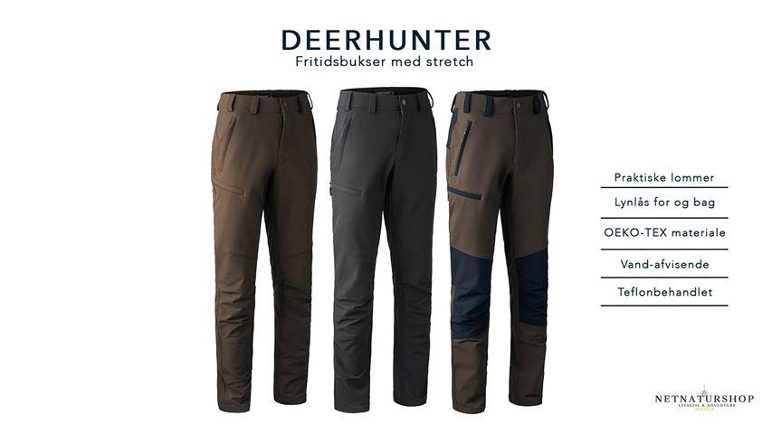 Nyt i Netnaturshop: Fritidsbukser fra Deerhunter Netnatur