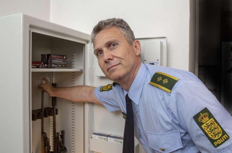 Våben skal opbevares sikkert i alle danske hjem