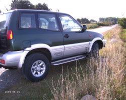 4X4 originale Nissan alu fælge 15 x 7 J 25