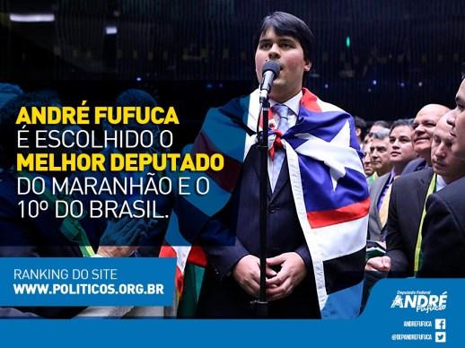 André Fufuca se destaca entre os deputados federais mais bem avaliados