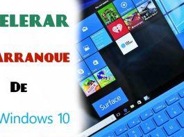 acelerar inicio windows 10