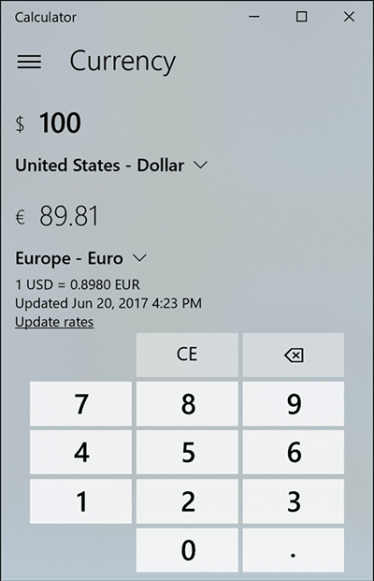 calculadora windows10