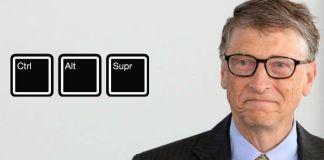Bill Gates Ctrl + Alt + Supr