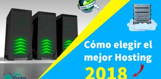 mejor hosting 2018