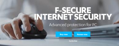 11. F-Secure Internet Security