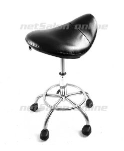 Salon Saddle Beauty Stool