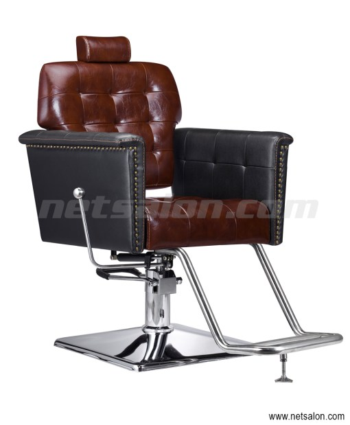 Barbers Chair in Brown
