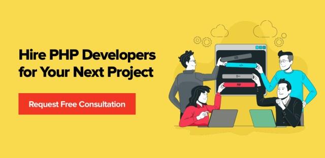 Embauchez des développeurs PHP pour votre prochain projet