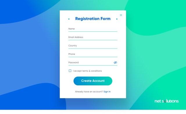 Utiliser le formulaire de colonne pour célibataires |  Meilleures pratiques de conception de formulaire