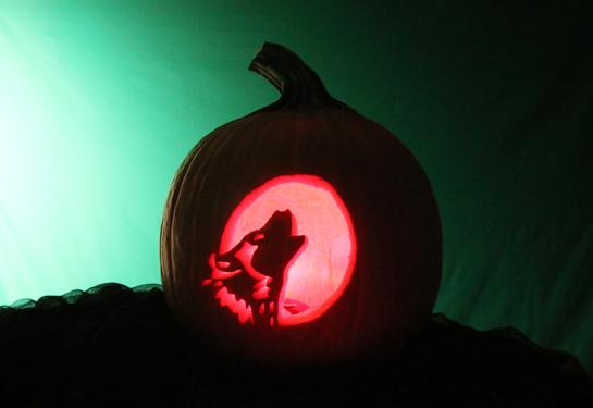 2013 Pumpkin Carving Contest Winner
