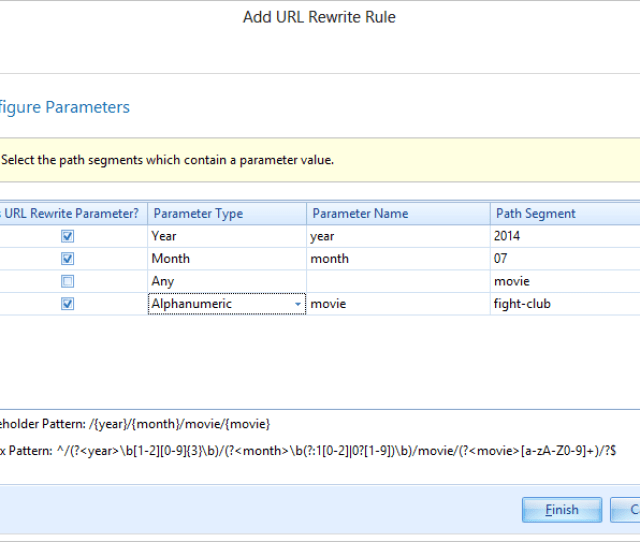 Configuring Multiple Url Parameters Using The Url Rewrite Rules Wizard In Netsparker
