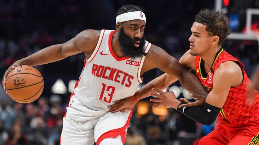 James Harden of Houston Rockets' James Harden beats Trae ...
