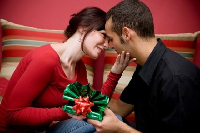 Buy gifts for each other.