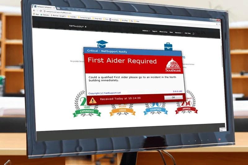 Desktop alerting and messaging