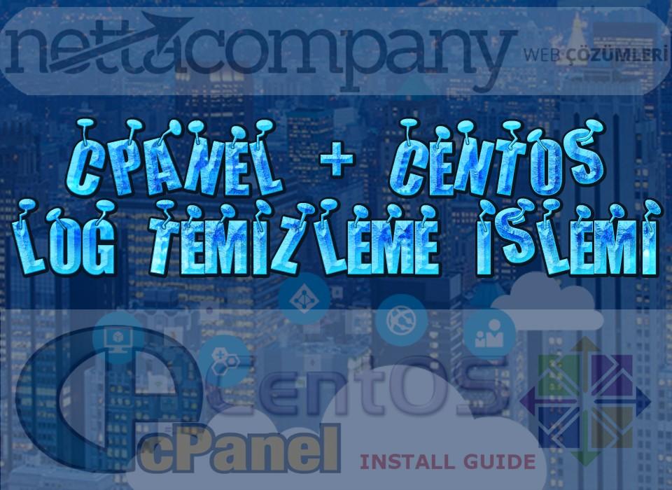 SSH ile CentOS Üzerindeki cPanel Loglarını Temizleme