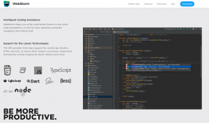 ide vs editors webstorm