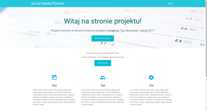 smplanner home page