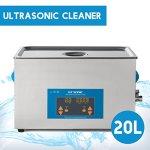 GT Nettoyeur à Ultrasons avec Affichage Numérique – 20L