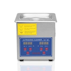 Ultraselect Nettoyeur à Ultrasons 1.3L Nettoyeur à Ultrasons Professionnels Commercial Nettoyage par Ultrasons pour Lunettes et Bijoux avec Minuteur de Chauffage Numérique (1.3L)