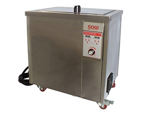 Cuve à ultrasons inoxydable nettoyeur ultrasons + chauffage 77L 1200W Sogi vl-u7700r
