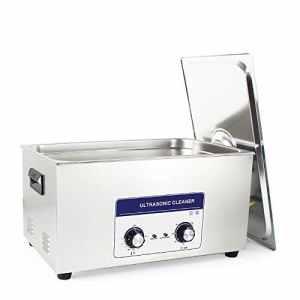 Cgoldenwall Jp-08022L nettoyeur à ultrasons en métal à ultrasons machine de nettoyage à ultrasons PC board Rondelle mécanique contrôle Chauffage + Minuteur