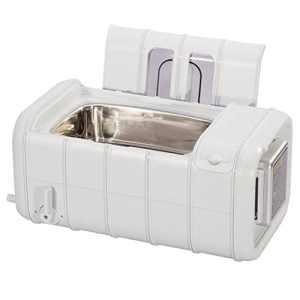 YQ Commercial Nettoyeur à Ultrasons, 3L Grand Capacité Numérique Minuteur Chauffe-Eau Plastique Panier Nettoyage Machine Lumière Gris