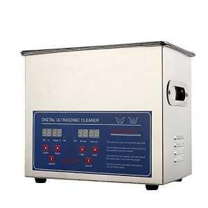 Nettoyeur professionnel à ultrasons avec écran digital pour nettoyer des bijoux, lunettes, pièces, montres, etc. 3L